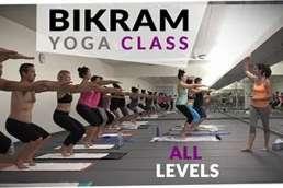 Bikram yoga class free workout