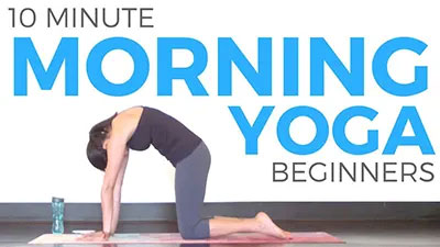 10 minute morning yoga for beginners  free workout sundays