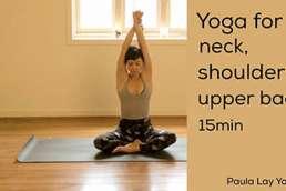 Yoga for neck shoulder upper beck