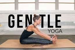gentle yoga flow for beginners free workout