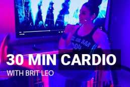 30 minunte free cardio workout no equipment needed