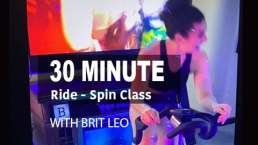 30 minute free spin class