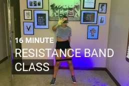 resistance band workout free
