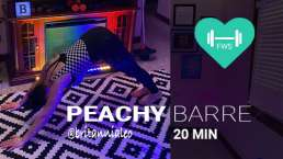 Peachy barre free class