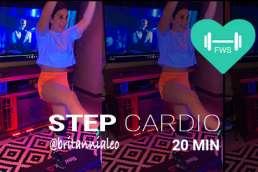 step cardio class